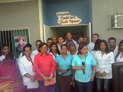 Melo: Certifica al estado Barinas territorio Barrio Adentro 100% Cobertura