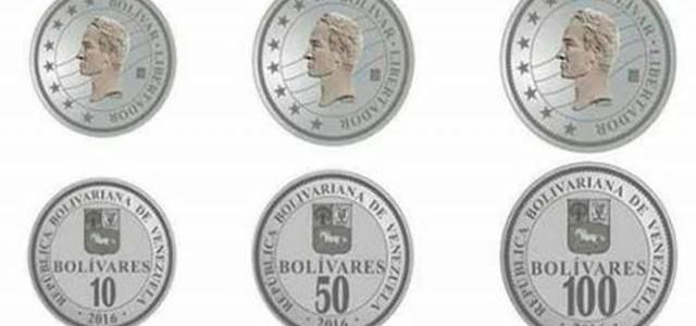 BCV incorpora de forma progresiva monedas de 10, 50 y 100 bolívares