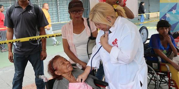 Instalado Módulo de Salud en la Gran Jornada carnetización de la Patria