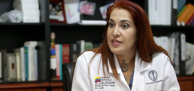 Antonieta Caporales Zamora estará al frente del Ministerio para la Salud