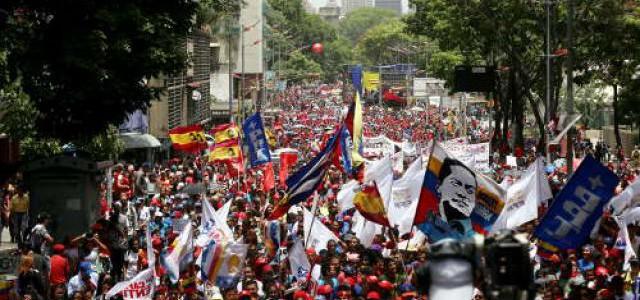 Pueblo patriota ratificó su compromiso por la defensa de la paz y la soberanía