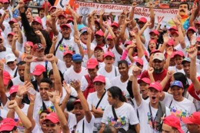 Trabajadores de salud desbordaron las calles para celebrar reivindicación social aplicada por Presidente Maduro