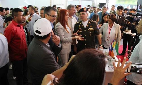 Sector salud presente en la ExpoVenezuela Producción Soberana