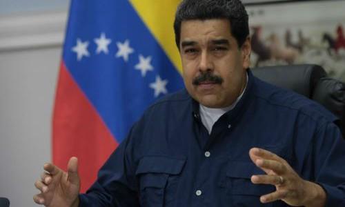 Maduro: Venezuela sigue en paz, Venezuela sigue trabajando