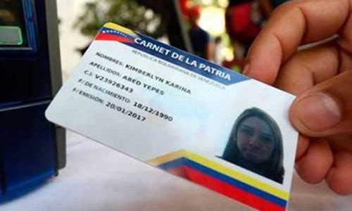 Trabajadores del Hospital Jesús Yerena obtuvieron el Carnet de la Patria
