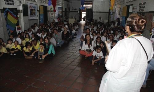 ESPROMED BIO realizó jornada de vinculación social en Escuela Los Salías de Valle Abajo