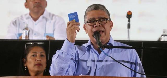 Jaua define Constituyente como herramienta para afianzar democracia participativa