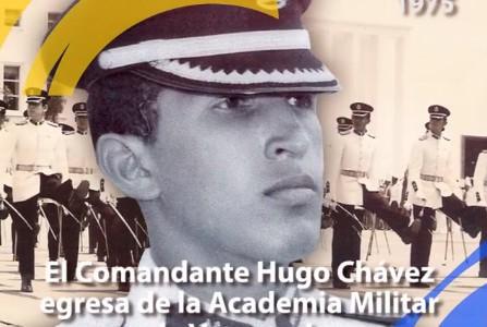 Hace 42 años el Comandante Chávez egresó de la Academia Militar de Venezuela