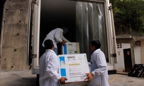 Despachadas 104 mil unidades de medicamentos al IVSS, Cojedes, Guárico y Mérida