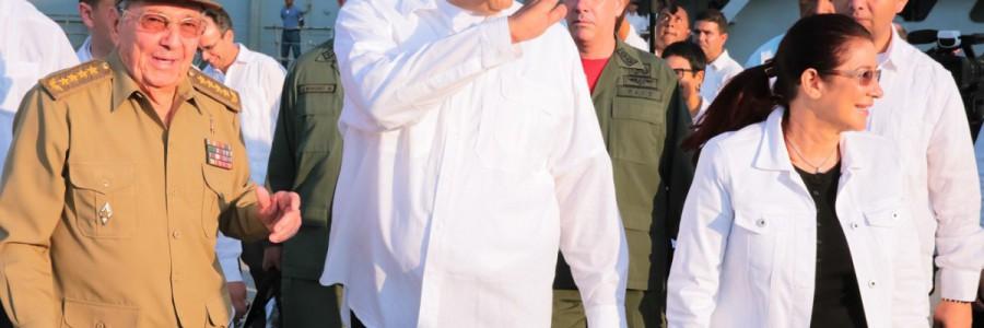 Raúl Castro felicita a Venezuela por vocación democrática mostrada este 15-O