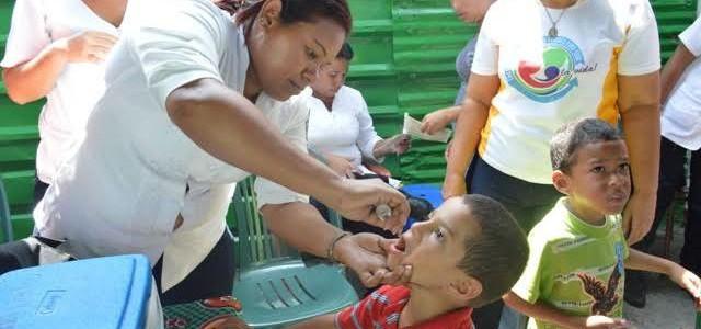 Realizan jornada de vacunación en Sucre para prevenir enfermedades eruptivas