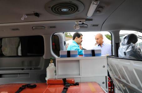 Activan sistema de ambulancias en Miranda