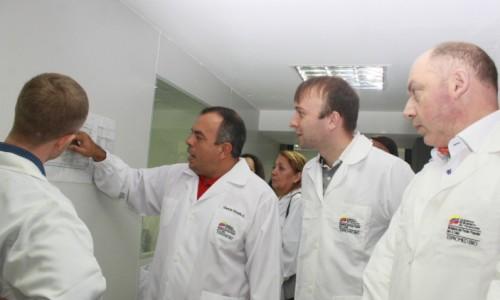 Rusia y Venezuela revisaron capacidades en producción de medicamentos biotecnológicos