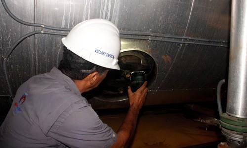 Realizado mantenimiento a calderas de Espromed BIO