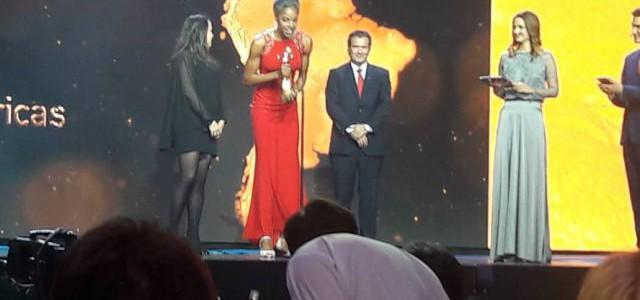 Yulimar Rojas recibió premio como la mejor atleta femenina de América y lo dedica a Venezuela