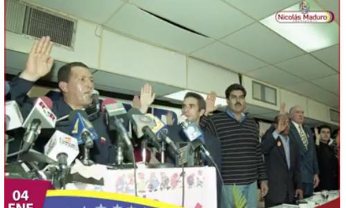 Maduro recuerda los 19 años de la instalación del Comando Patriótico Constituyente de la mano del comandante Chávez