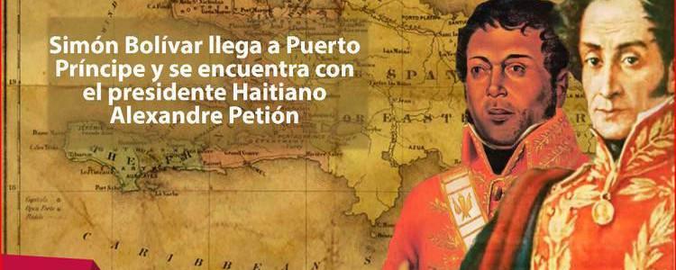 Presidente Maduro conmemora los 202 años del primer encuentro entre Bolívar y Petión