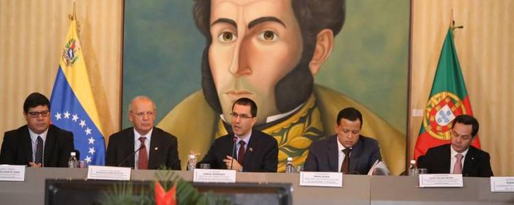 Venezuela fortalece acuerdos económicos con Portugal