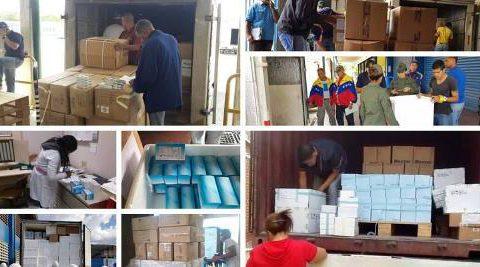 Distribuidas más de 800.000 unidades de medicamentos esta semana en hospitales