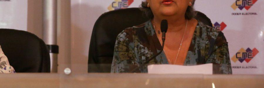 CNE fija elecciones presidenciales, legislativas regionales y municipales para el 20 de mayo