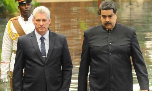 Presidente de Cuba arriba a Venezuela para profundizar lazos de amistad