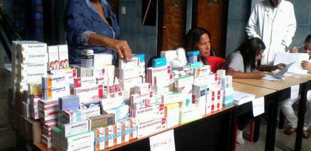 Entregan medicinas a más de 370 pacientes en Trujillo