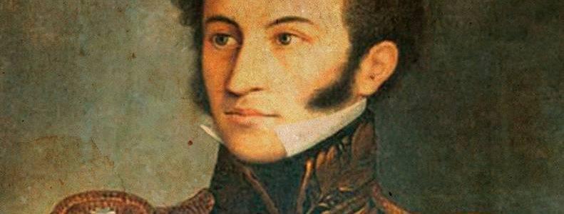 Hace 192 años Sucre fue juramentado como Presidente provisional de Bolivia
