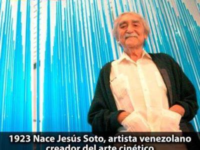 Maduro conmemora 95 años del natalicio de Jesús Soto creador del arte cinético