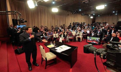 Chávez reivindicó la comunicación como espacio de lucha revolucionaria