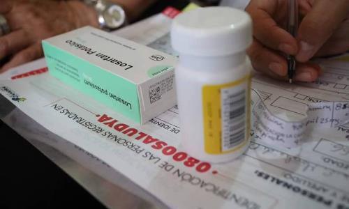 Este fin de semana el servicio 0800 Salud Ya entregó medicinas en tres estados del país