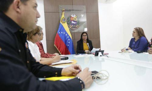 Vicepresidenta Rodríguez califica de fructífera jornada de trabajo del Gabinete Social