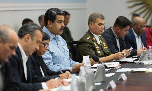 """Presidente Maduro a su Gabinete Ministerial: """"Exijo mayor respuesta a las necesidades del pueblo"""""""
