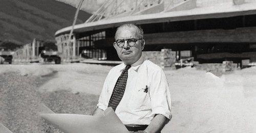 En 1975 Fallece el gran arquitecto Carlos Raúl Villanueva