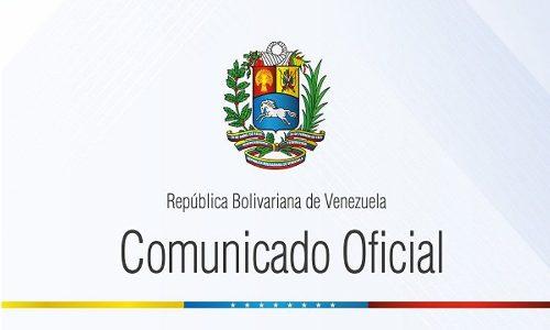 COMUNICADO | Venezuela responsabiliza a Colombia de cualquier nueva agresión