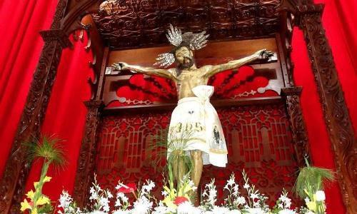 Este lunes se conmemoran 408 años de la imagen del Santo Cristo de la Grita