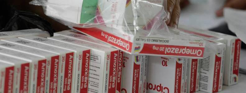Medicamentos de uso masivo se destinarán a la red pública de salud