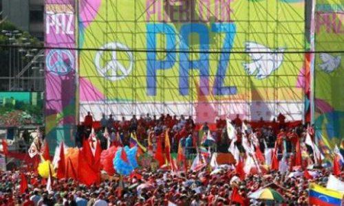 Fuerzas revolucionarias marcharán el próximo lunes en favor de la paz
