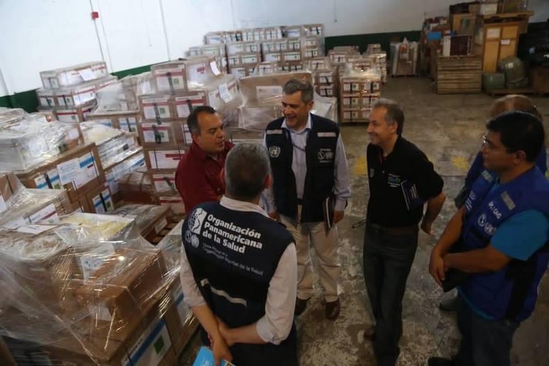 16 toneladas de medicamentos llegan al país para beneficiar a 400.000 pacientes