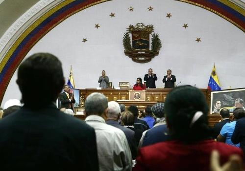 Vicepresidenta Delcy Rodríguez presentó presupuesto de la nación para el año 2019