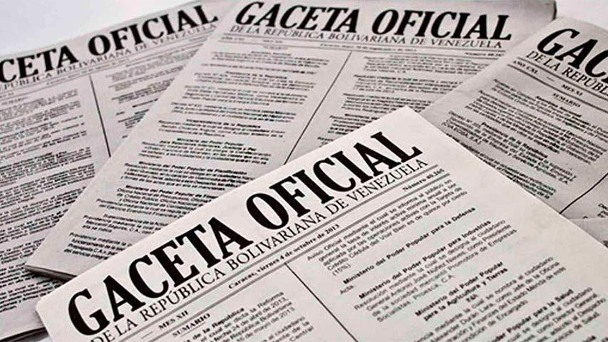 En Gaceta la lista con los precios de 56 principios activos