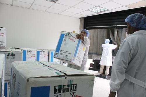 Más de 270 mil unidades de biológicos y vacunas llegaron a Espromed BIO