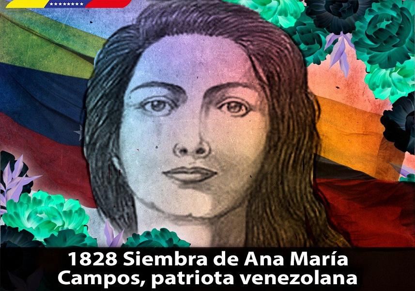 Presidente Nicolás Maduro conmemoró siembra de la heroína Ana María Campos