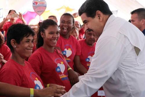 Presidente Maduro ratifica compromiso con la protección social