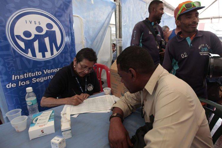 IVSS realizó jornada de salud para taxistas, mototaxistas y choferes