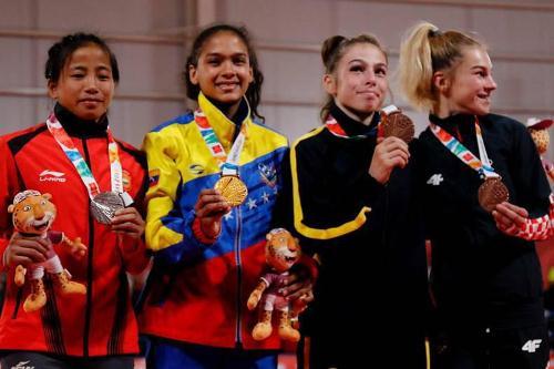 Venezuela sumó dos de oro en jornada histórica de los Juegos Olímpicos de la Juventud
