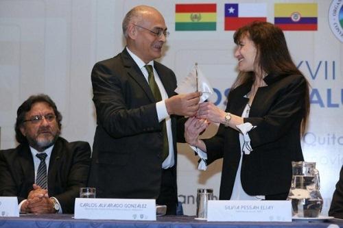 Venezuela entregó a Perú presidencia pro tempore de la REMSAA