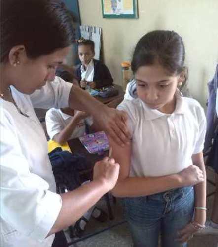 Plan de vacunación inmunizó a estudiantes de 460 escuelas carabobeñas