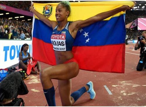 Yulimar Rojas recibirá el Premio As 2018 América en Madrid