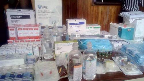 Dotan con medicamentos a 230 pacientes en Trujillo