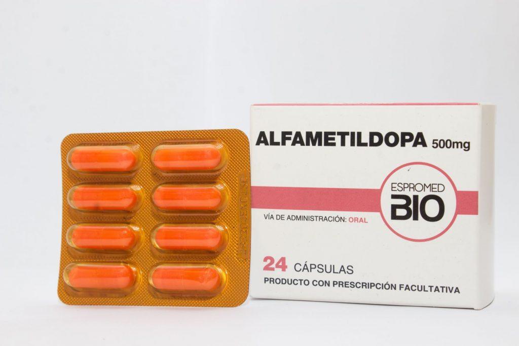 Alfametildopa 500 mg